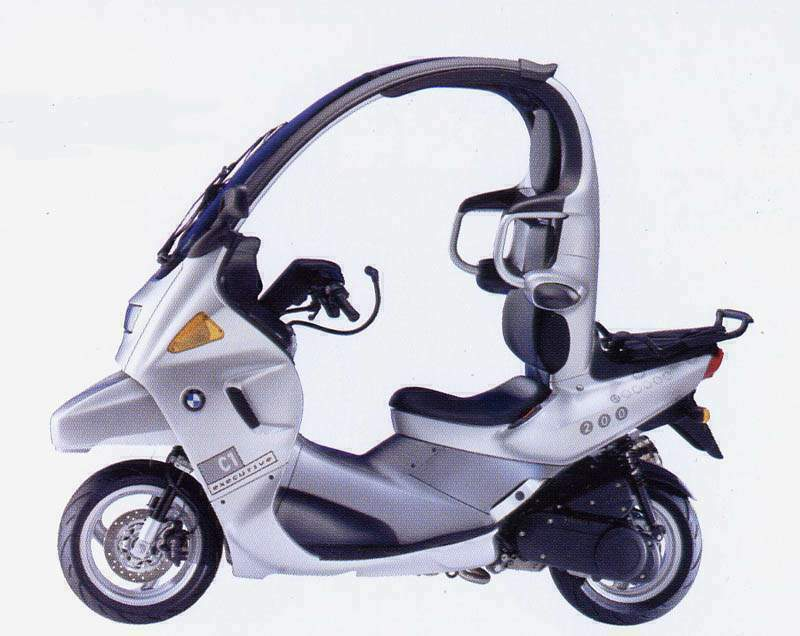 BMW C1 technical specifications